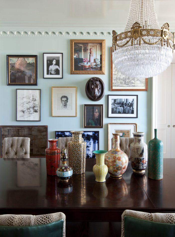 Summer Thornton-designed dining room in Chicago