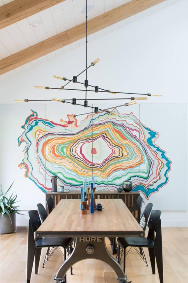Regan Baker dining room in California