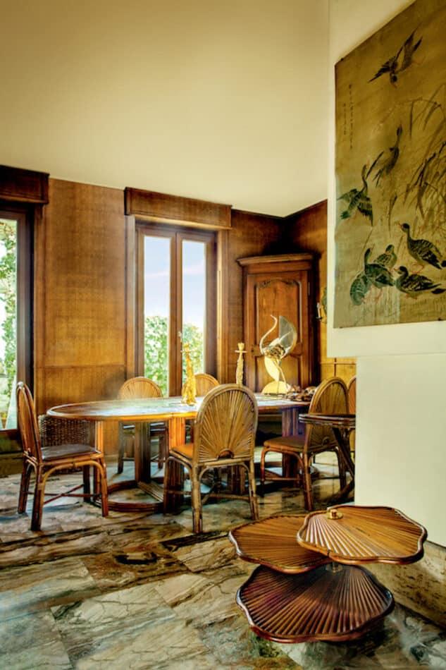 Gabriella Crespi's Milan penthouse