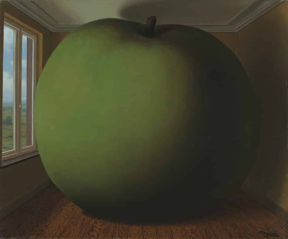 The Listening Room, 1952, by Rene Magritte