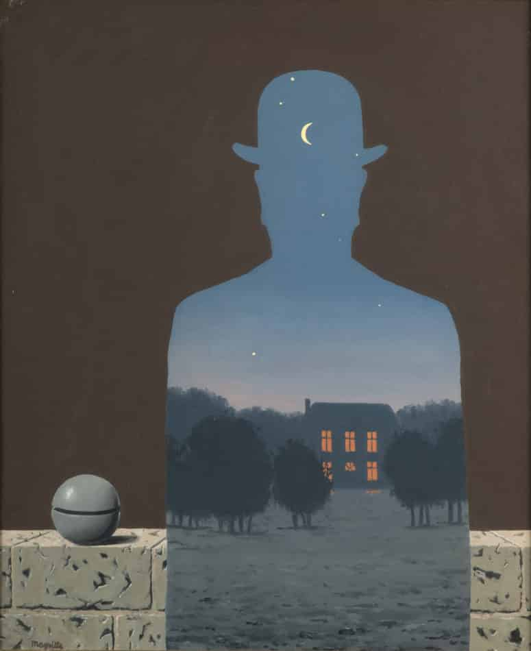 The Happy Donor, 1966, by Rene Magritte