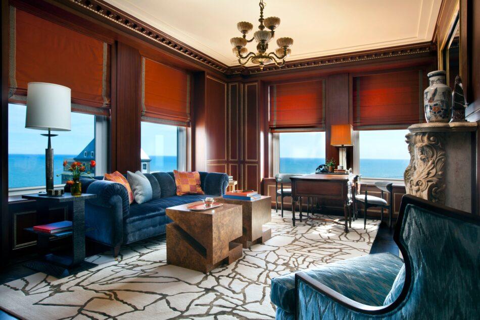 Summer Thornton living room in Chicago