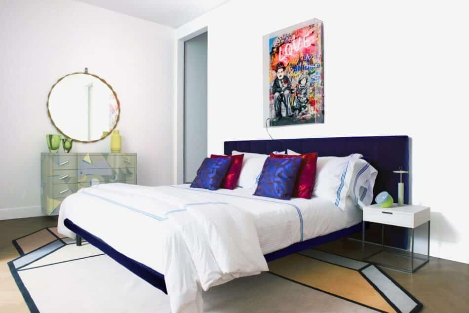 Bedroom at Zanotta House