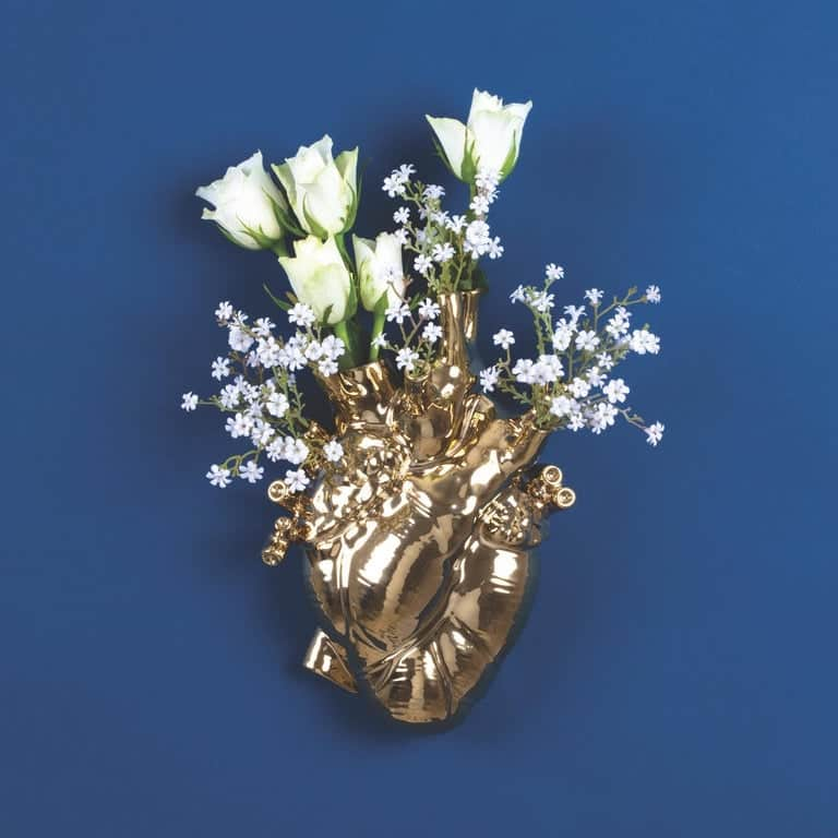 Gold Love in Bloom by Marcantonio for Seletti