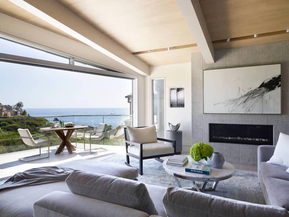 Ohara Davies Gaetano Interiors living room in Beverly Hills