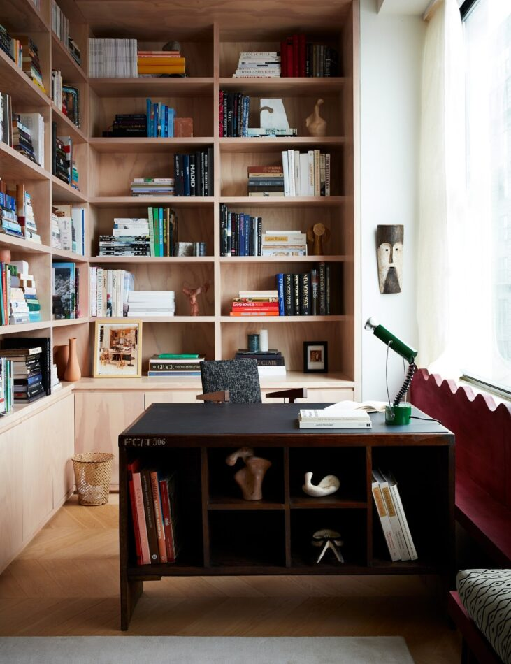 Giancarlo Valle home office in New York