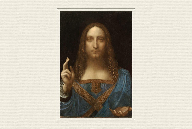 Salvator Mundi, 1490–1500, by Leonardo da Vinci