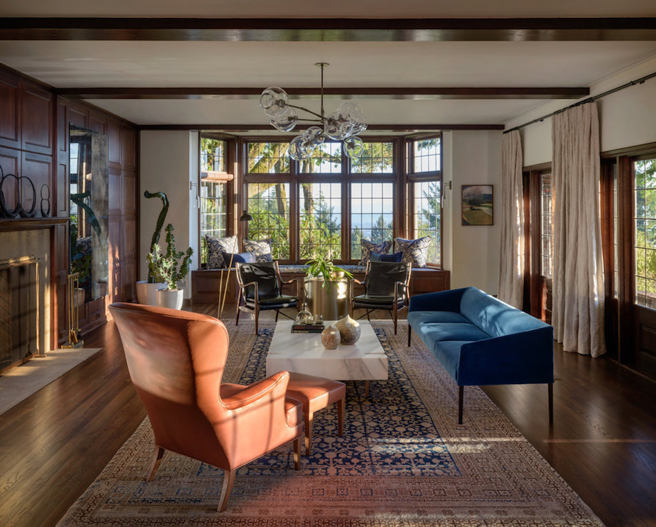 Tudor living room