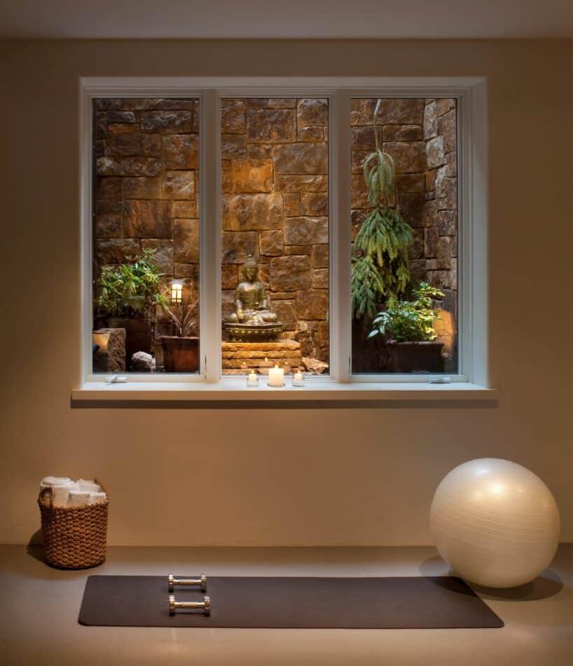 Calming Yoga Studio by Joe McGuire