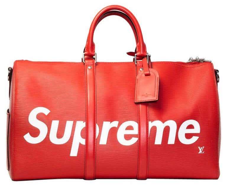 Louis Vuitton X Supreme Keepall 45, 21st century