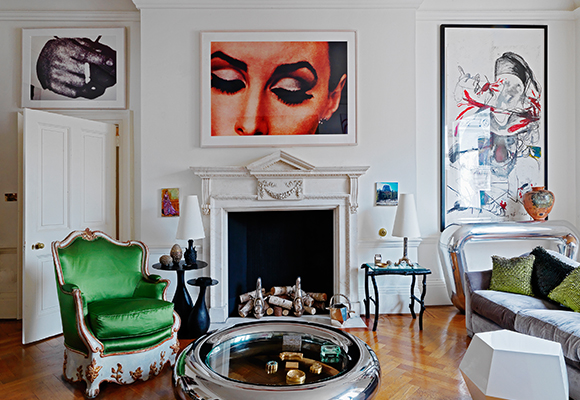 Cutting-Edge Cool: 15 Rooms Filled with Contemporary Art and ...