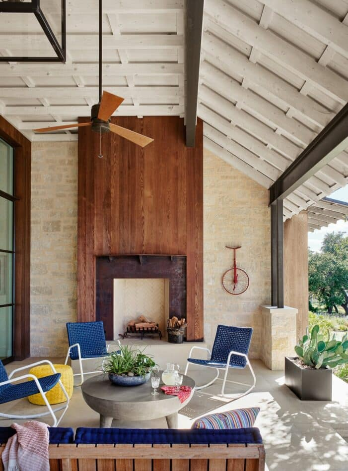 Austin, Texas lake house by Fern Santini