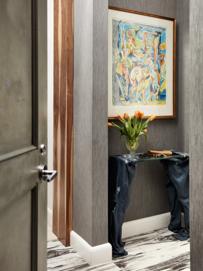 entryway by JDK Interiors