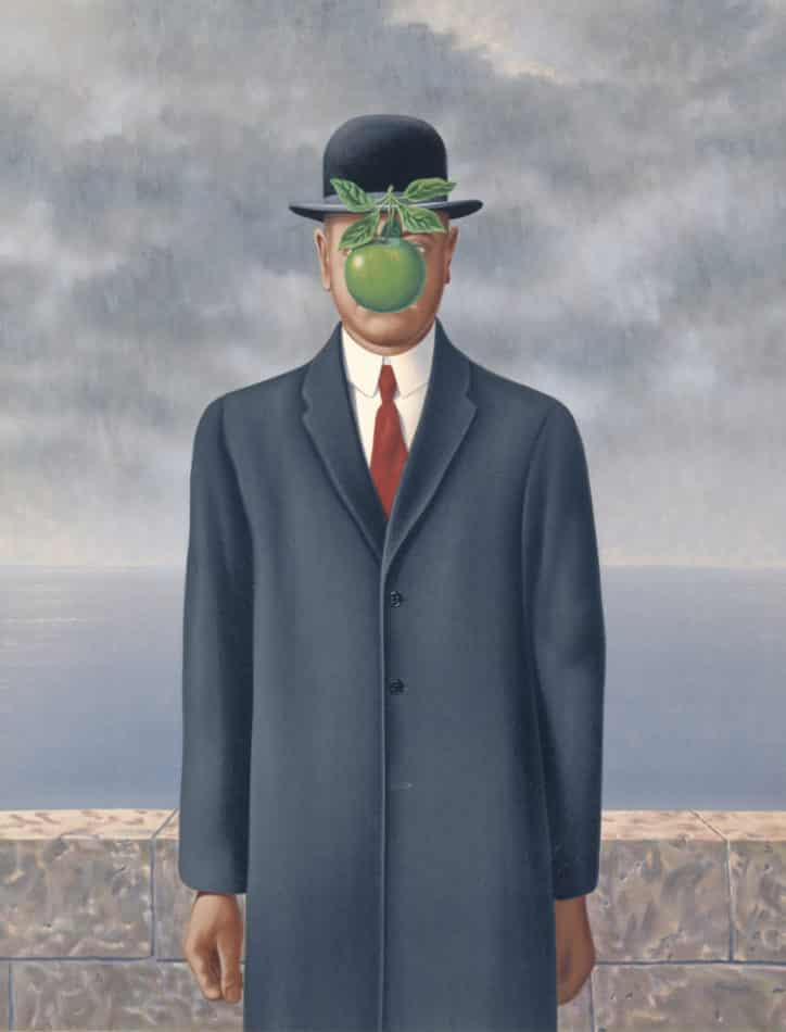 Son of a Man, 1964, by Rene Magritte