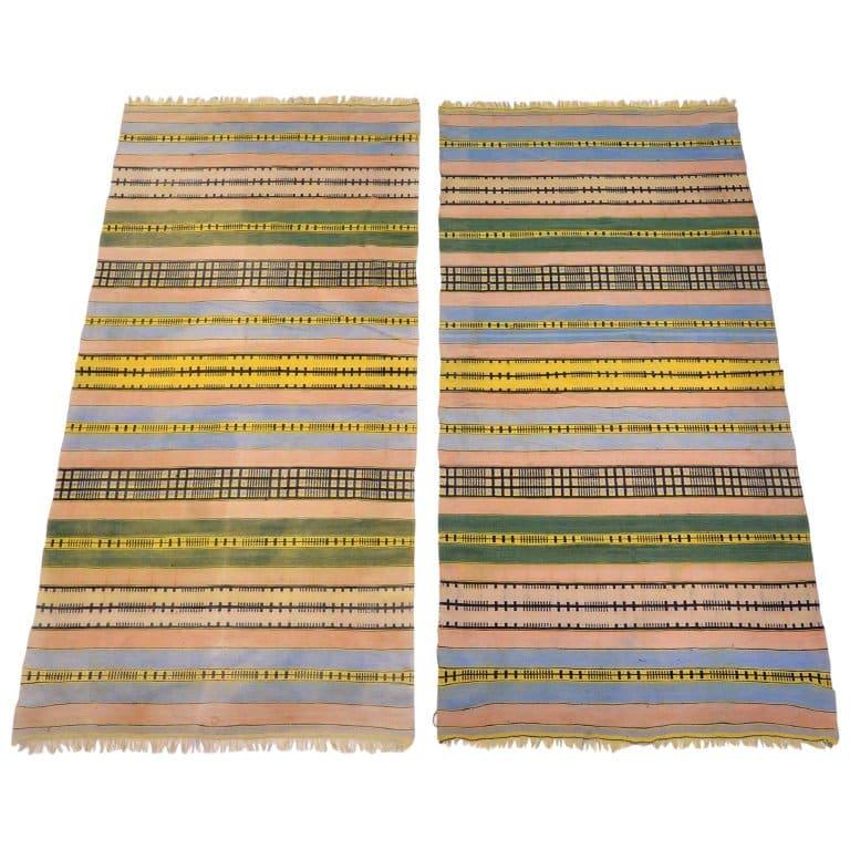 Bauhaus Weaving Workshop cotton rugs