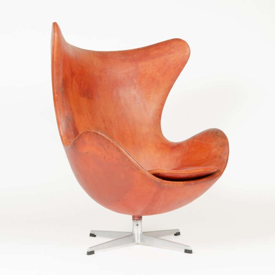 Arne Jacobsen for Frtiz Hansen Egg chair, 1950s