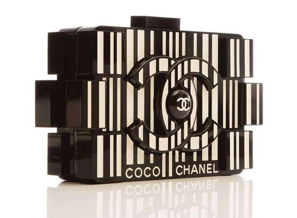 Chanel Barcode Boy Brick Lego bag