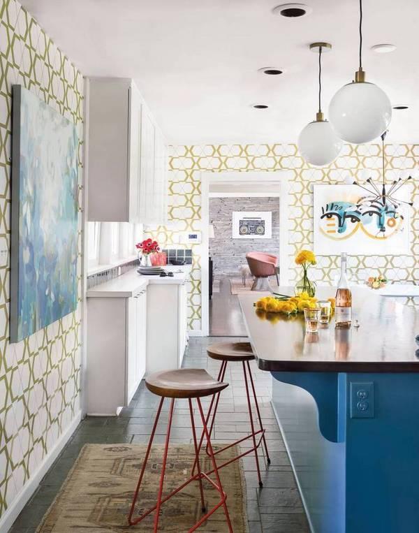 Designer Charlotte Lucas's kitchen in Charlotte, NC