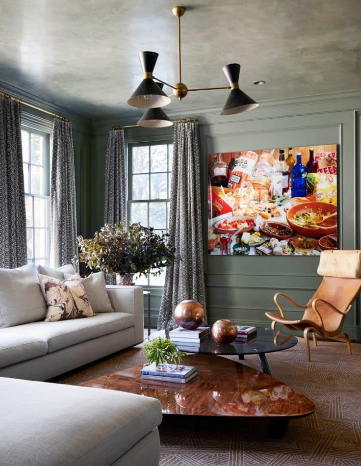 Houston, TX living room by Meg Lonergan