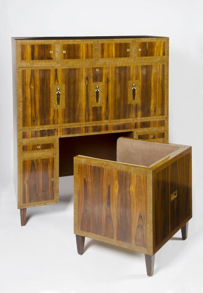 Koloman Moser writing cabinet