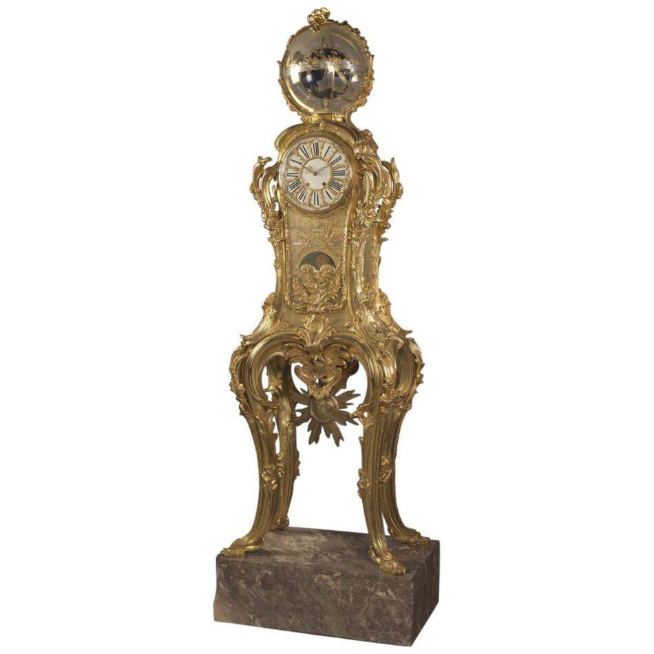Astronomical Regulator Clock Attributed to François Linke, ca. 1900