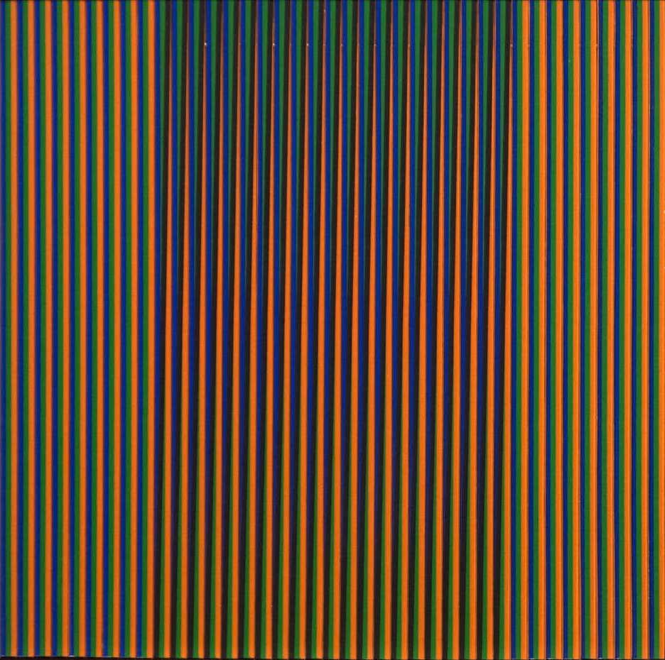 Physichromie DDC 1, 1981, by Carlos Cruz-Diez