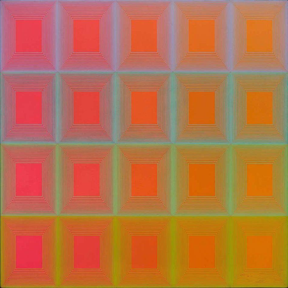 Moonbow, 1967, by Richard Anuszkiewicz