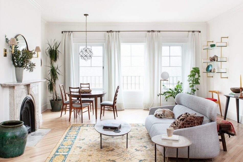 Back Bay Townhome by Indigo and Ochre Design