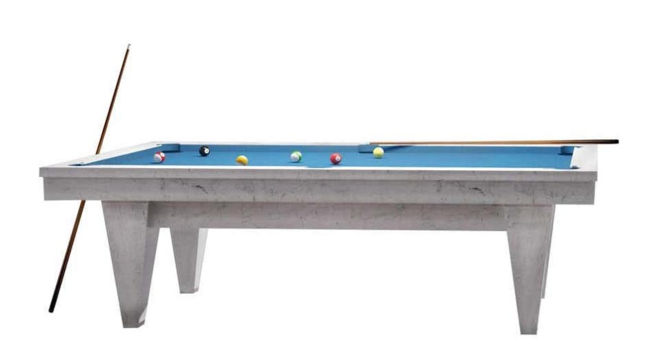 Blatt Billiards handcrafted marble pool table