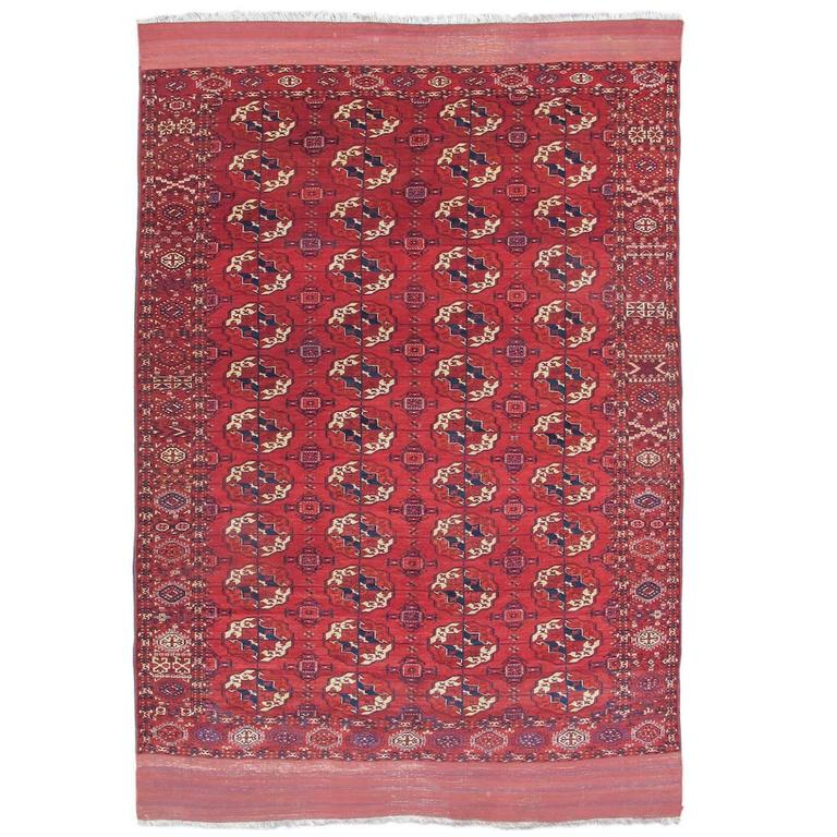 Tekke Turkmen rug from the late 19th century