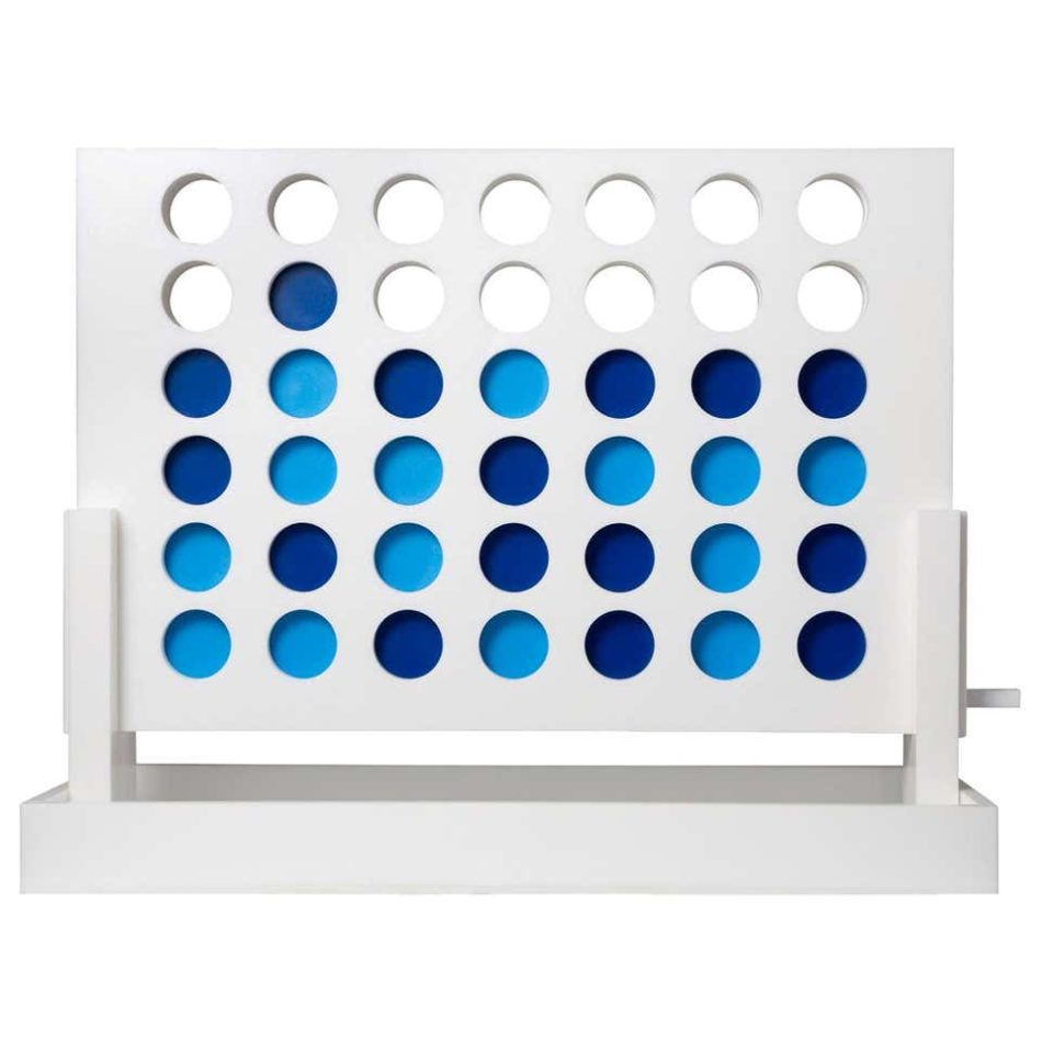 Acrylic Connect Four game