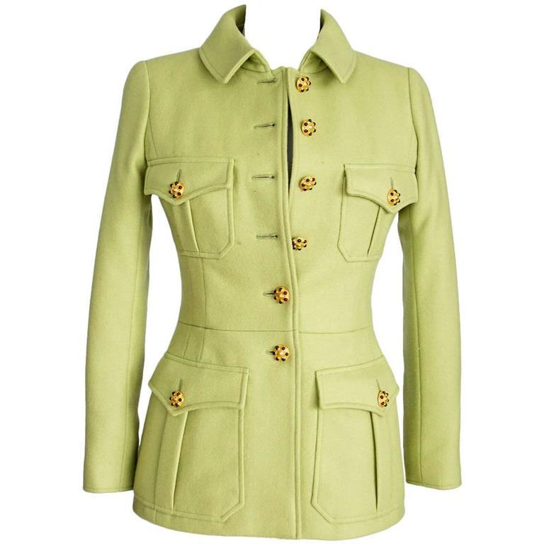 green safari jacket