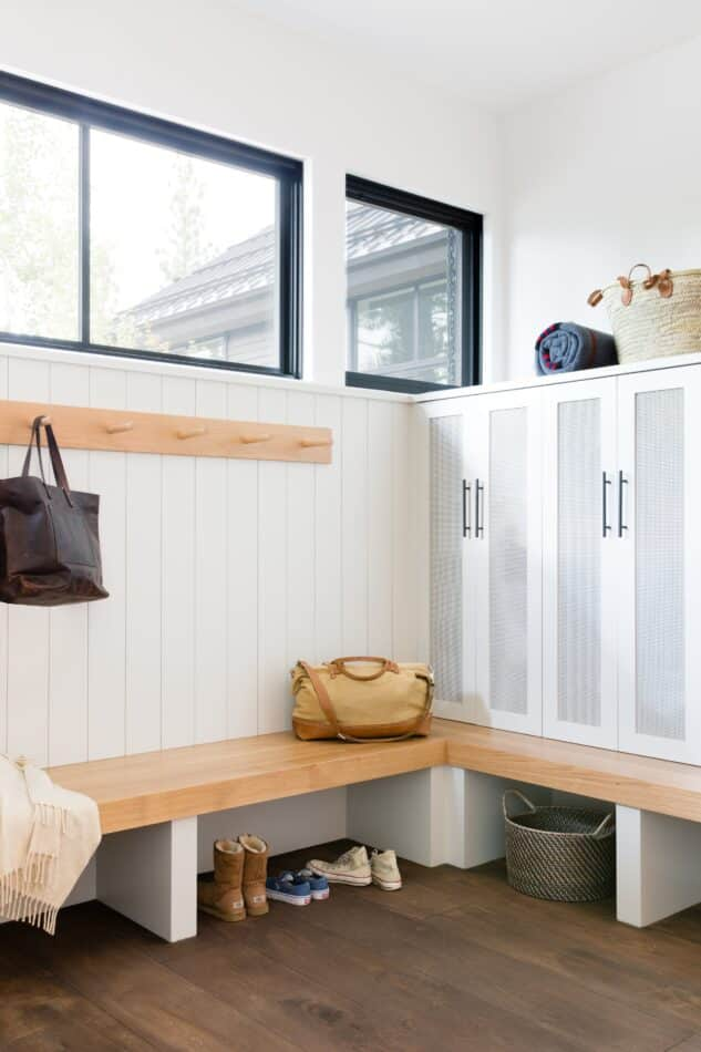 mudroom by ABD Studio in Truckee, CA