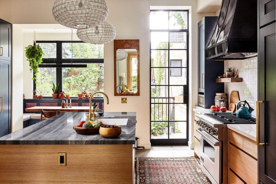 Clinton Hill kitchen by Indigo & Ochre Design