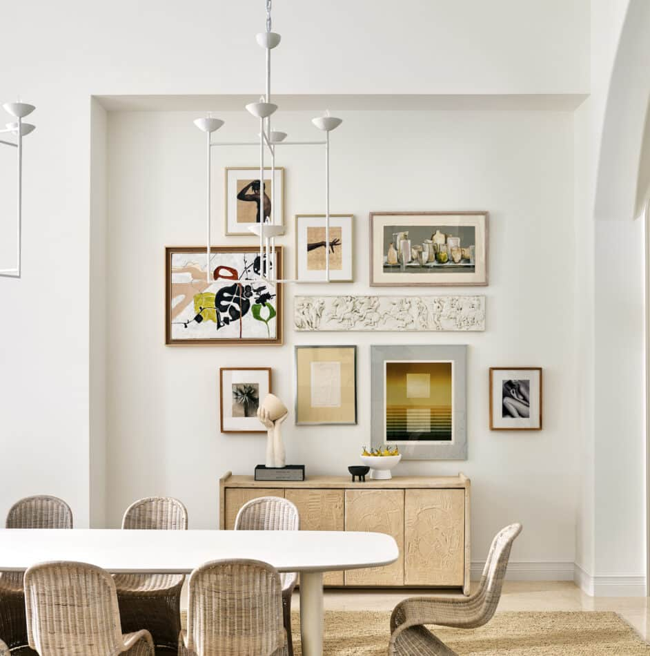Wellington dining room by Timothy Godbold