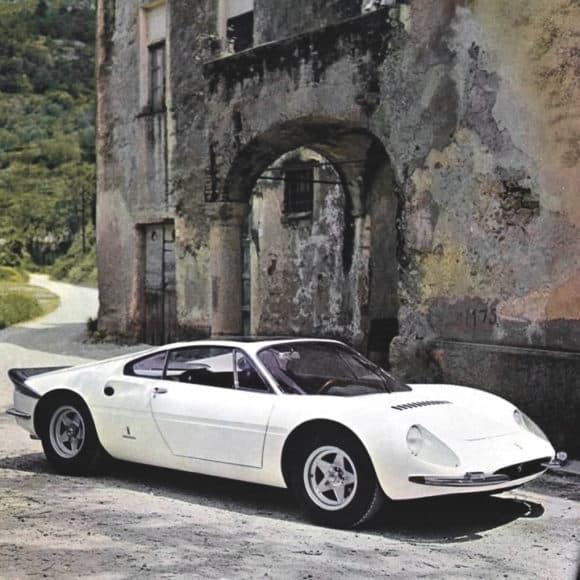 A 1966 Ferrari 365 P Berlinetta Speciale.