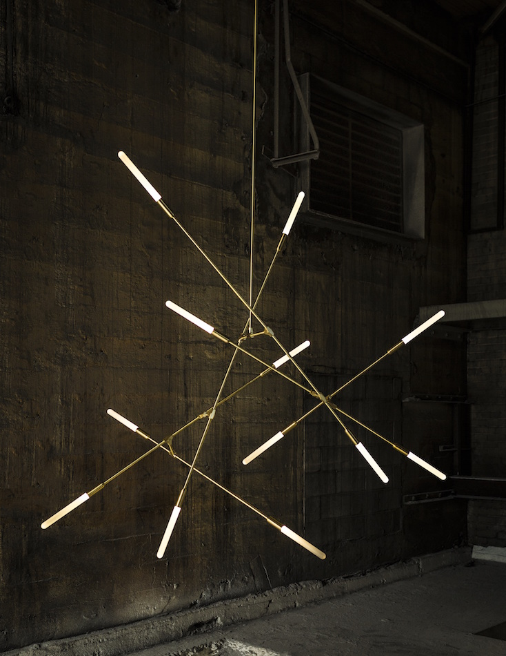 Matthew McCormick's Dawn LED light fixture