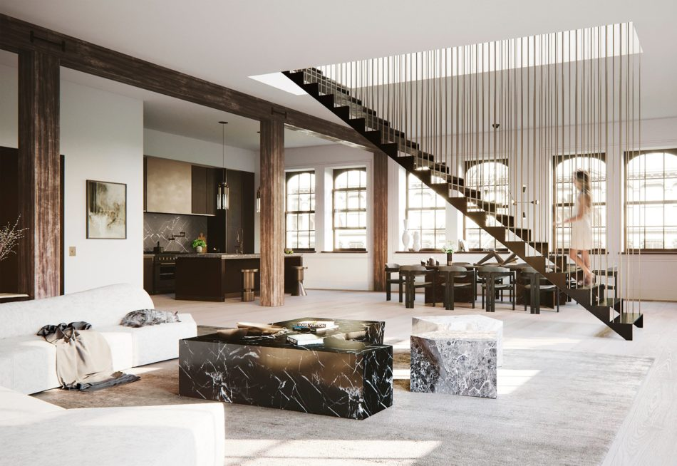 DJDS Living room in New York