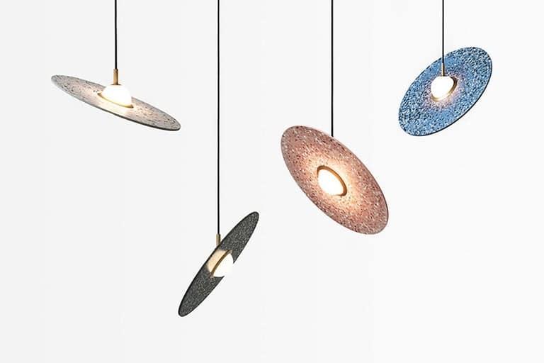 Planet Pendant Lamp by Bentu
