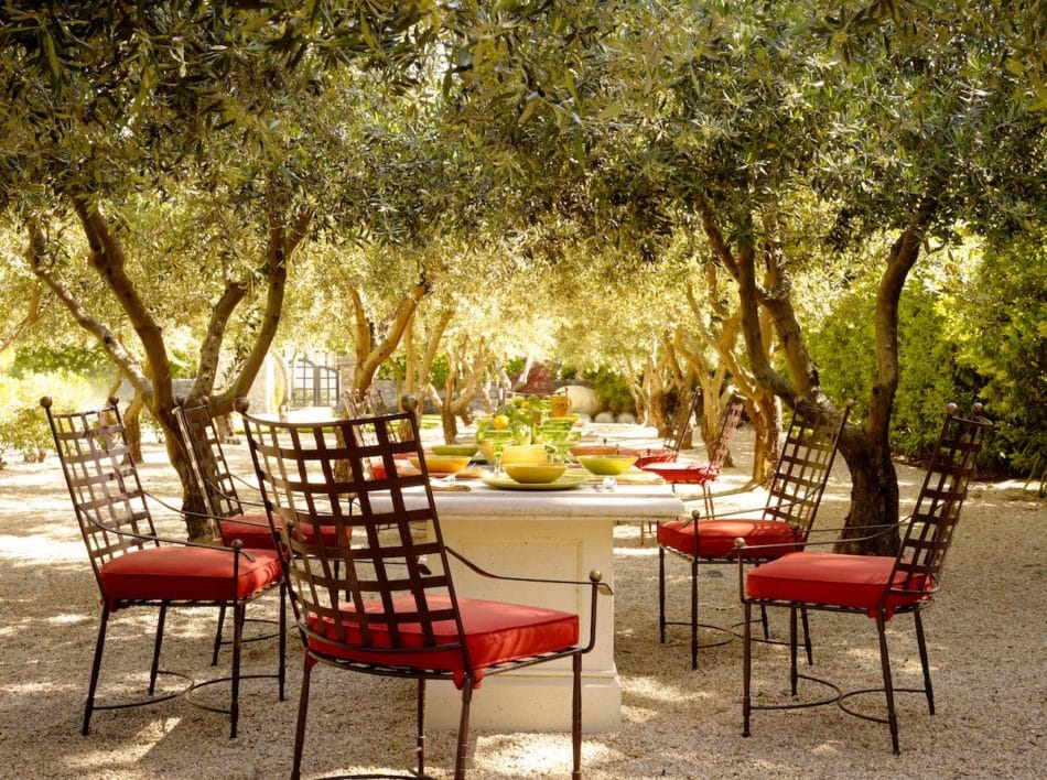 Napa Valley patio by Fisher Weisman