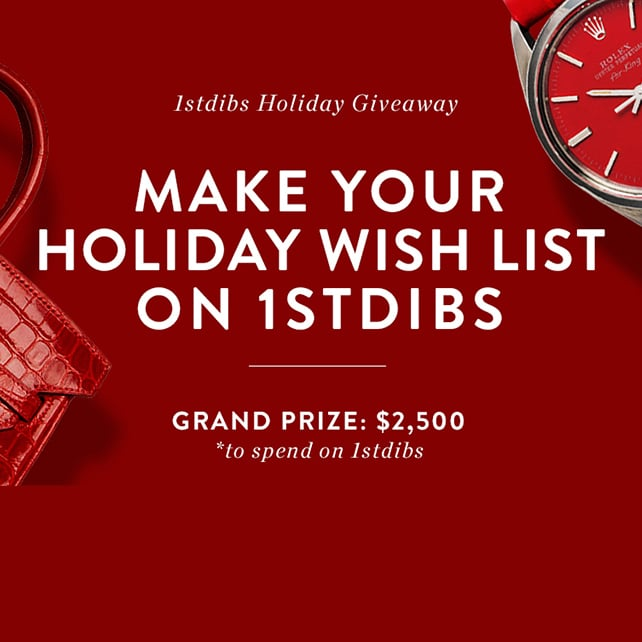 1stdibs Holiday 2014 Wish List Giveaway Featured Image