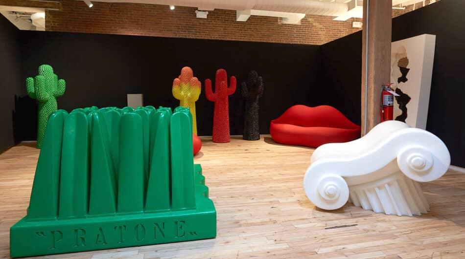 Gufram in 1stdibs west Chelsea gallery