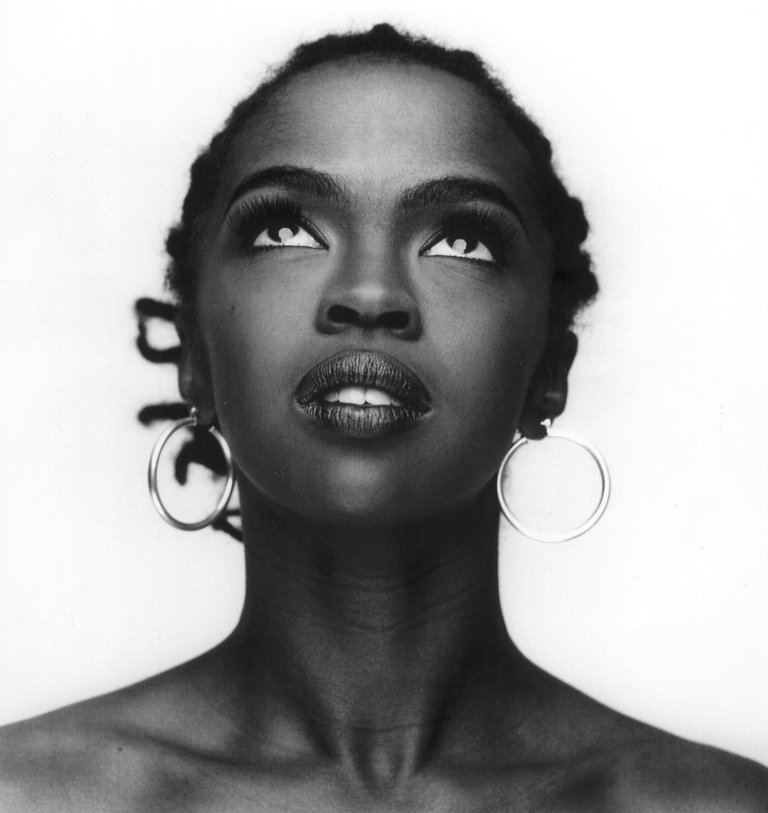 Portrait of Lauryn Hill by Marc Baptiste