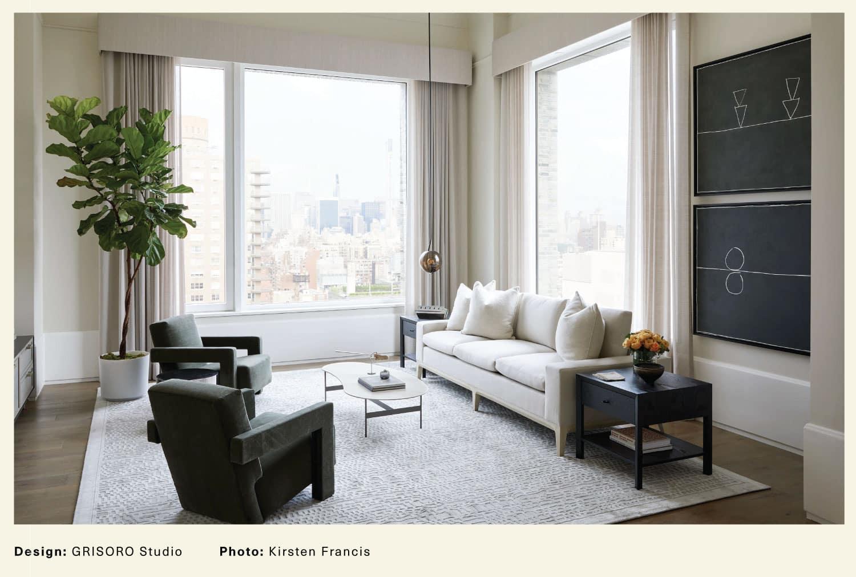 Grisoro Studio living room
