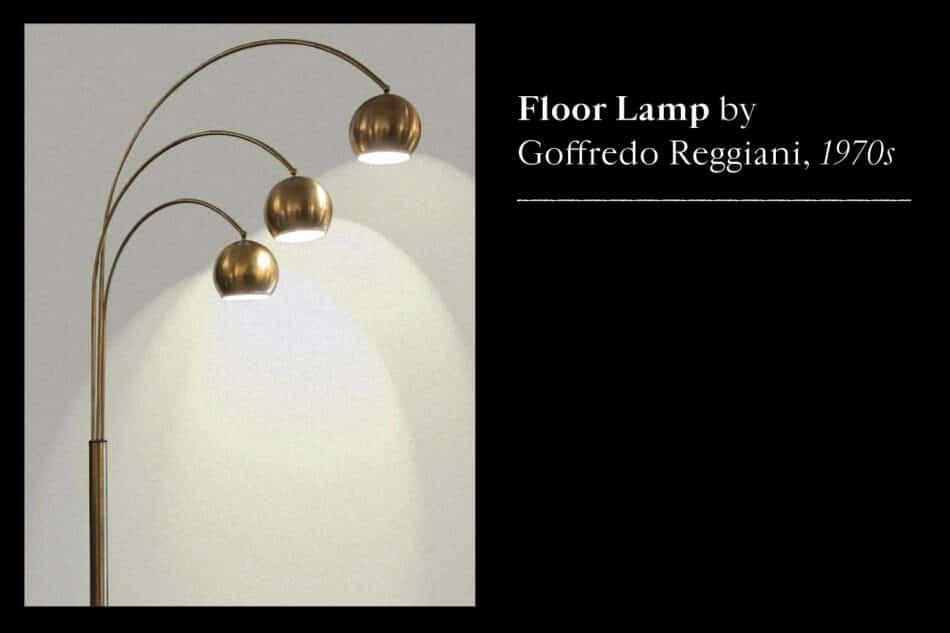 Goffredo Reggiana floor lamp