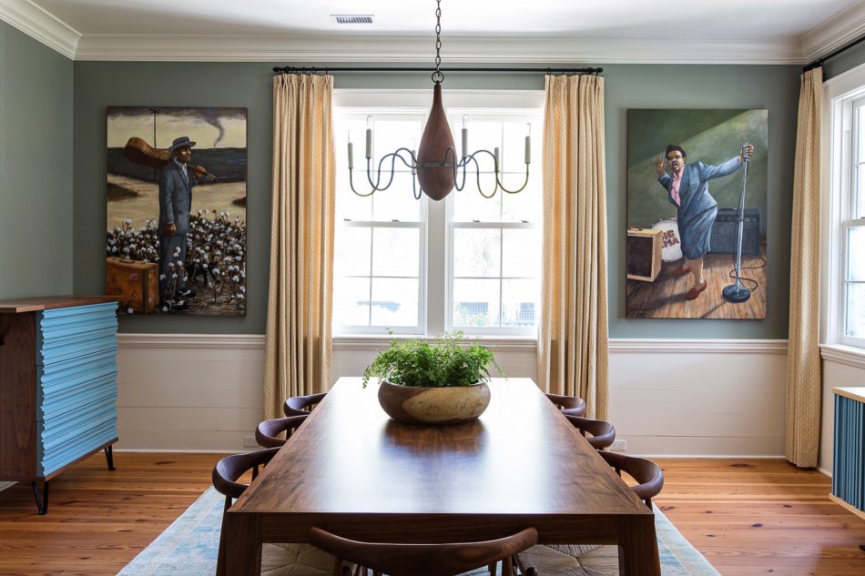 dining room by Cortney Bishop