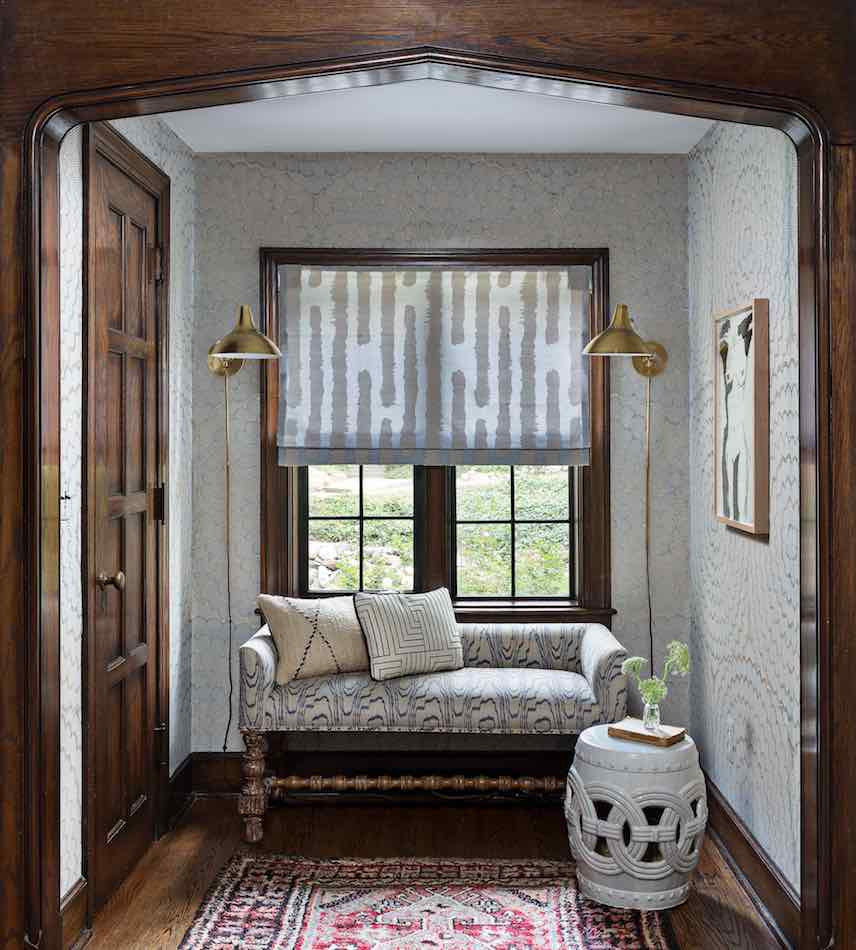 entry hall by Cloth & Kind