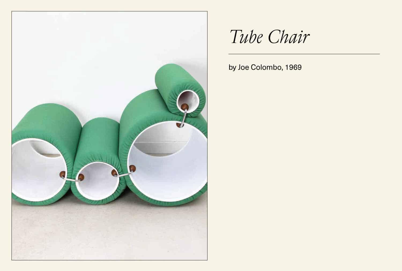 Green Tube chair