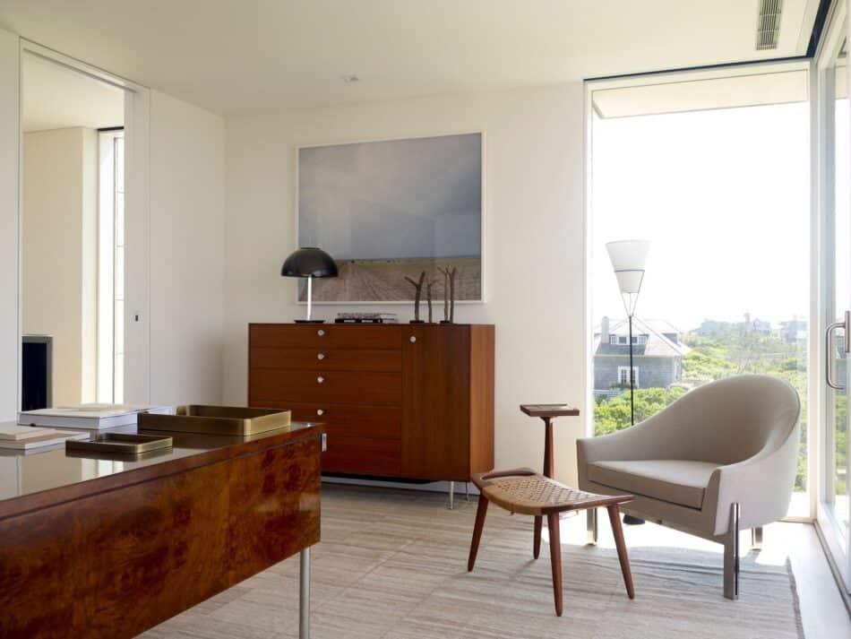 Bridgehampton master suite by Robert Stilin