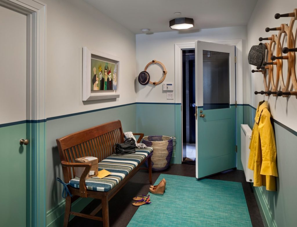 Brooklyn mudroom by Tamara Eaton